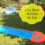 6 Fun Water Activities for Kids
