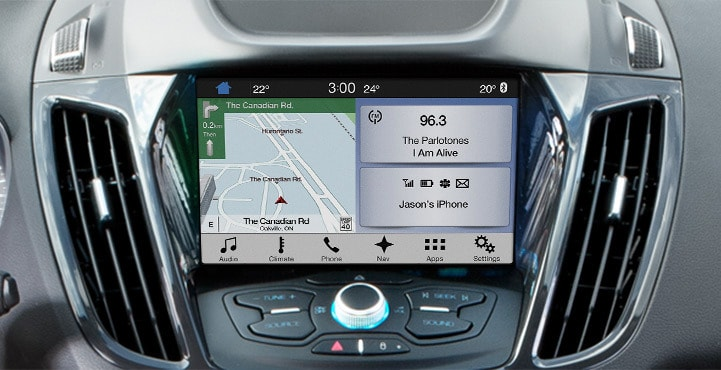 ford flex family friendly features voice activation sync3 hands-free
