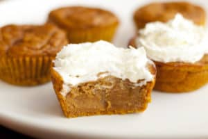 Irresistible Pumpkin Pie Cupcakes by The Krazy Coupon Lady