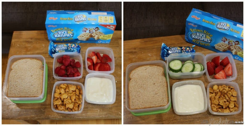 easy bento box school lunch ideas
