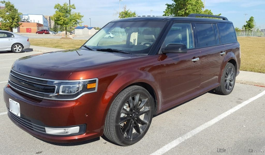 ford flex review for a family of 5