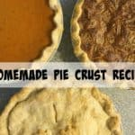 Homemade Pie Crust Recipe – Step by step instructions with photos
