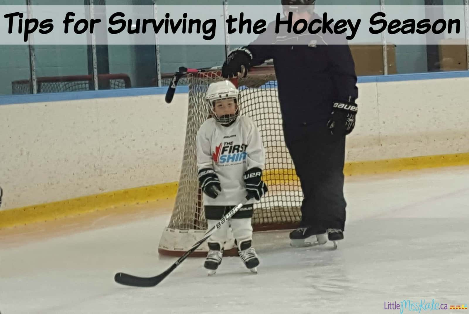hockey mom tells tips for surviving the hockey season little