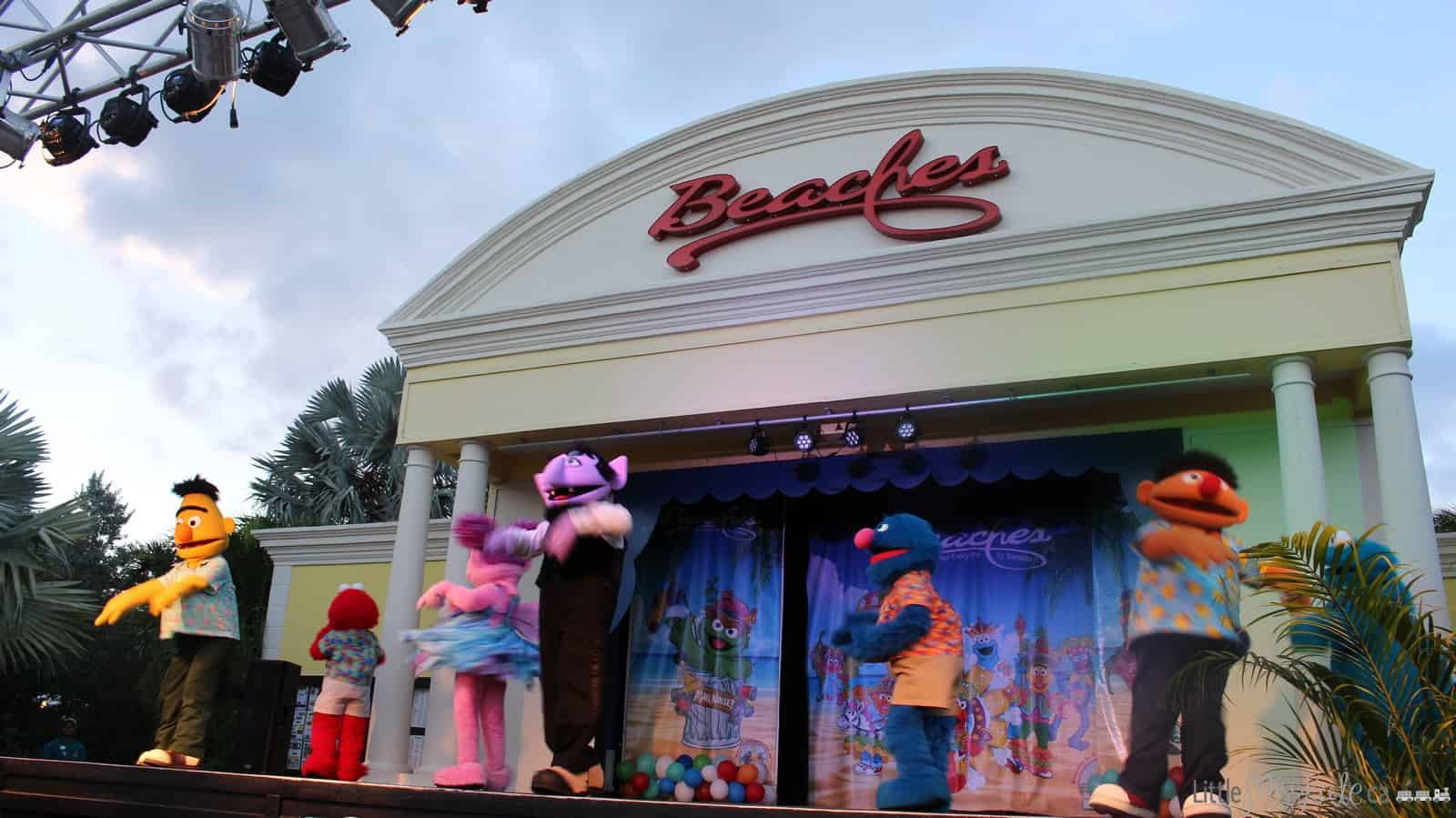 beaches turks and caicos review sesame street show
