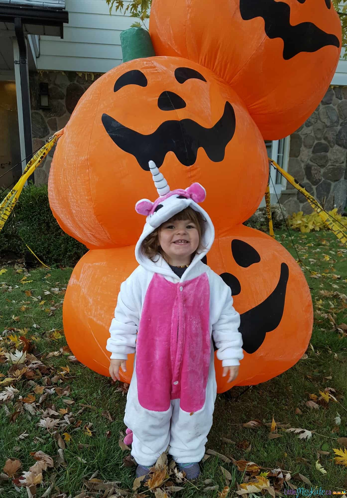 Easy Halloween Party Game Idea - Nighttime Halloween Hunt via LittleMissKate.ca