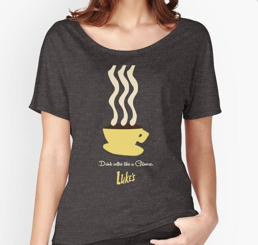 girlmore girls gift ideas girlmore girls t-shirt Drink coffee like a gilmore