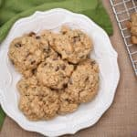 Homemade Peanut Butter Oatmeal Chocolate Chip Cookie Recipe