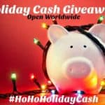 Help Fund Your Holiday Shopping – $400 Cash Giveaway #HoHoHolidayCash