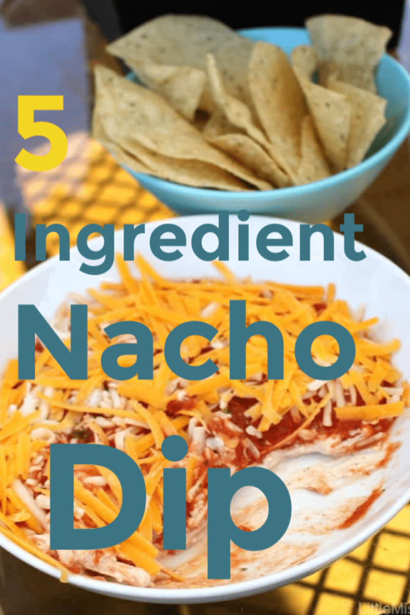 5 ingredient nacho dip