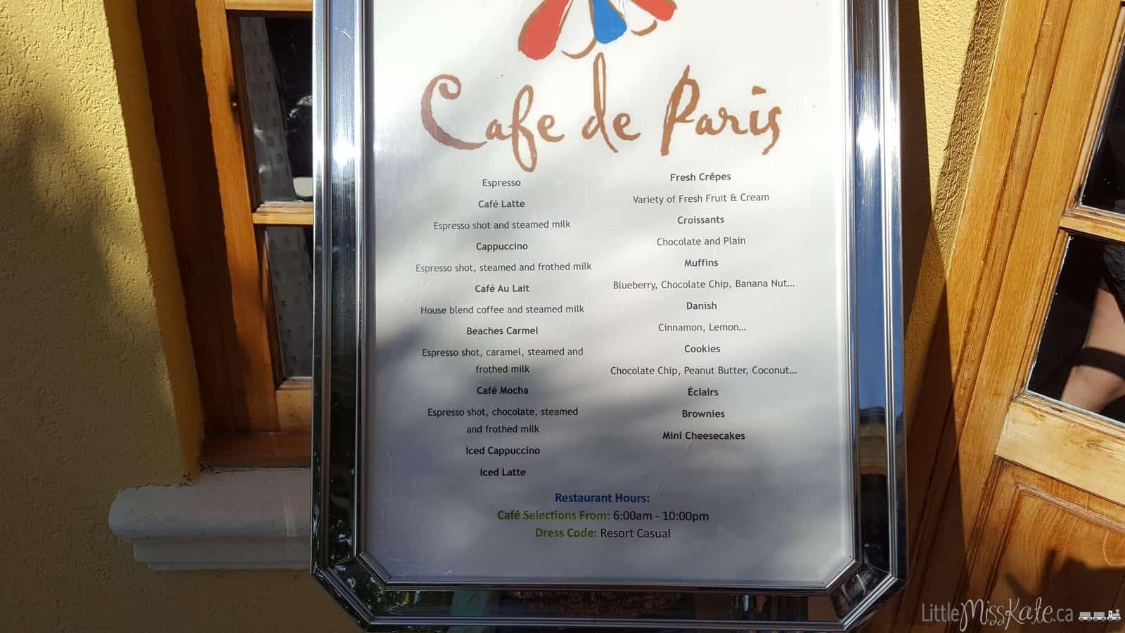 Beaches Resort Villages Turks and Caicos Restaurants - Cafe de Paris via littlemisskate.ca