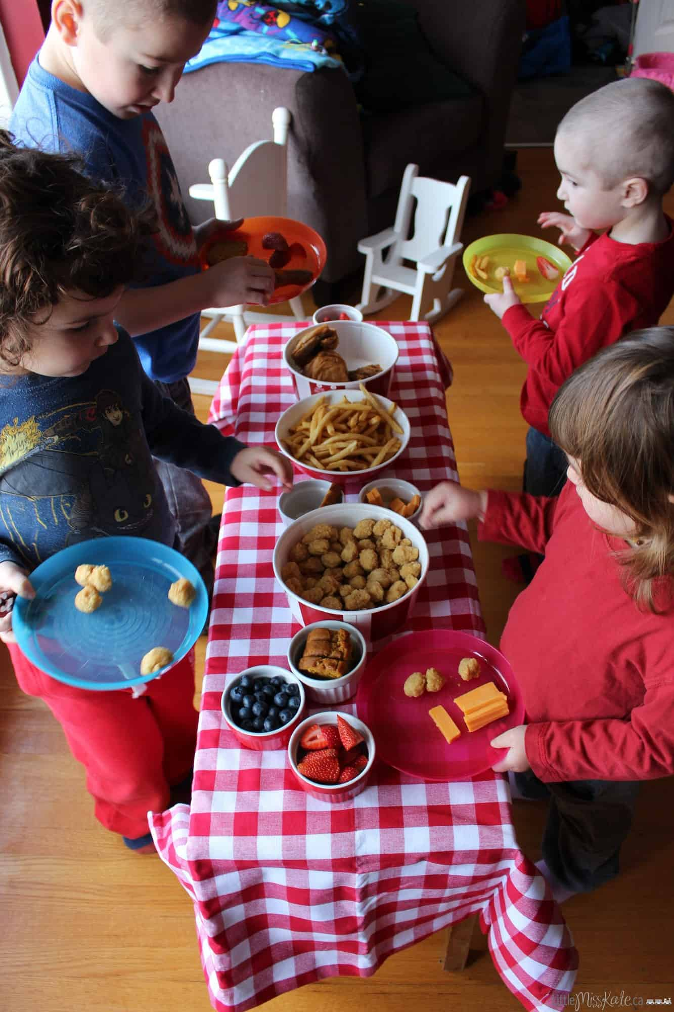 Family Traditions: 10 Ideas You Can Start Anytime indoor picnic