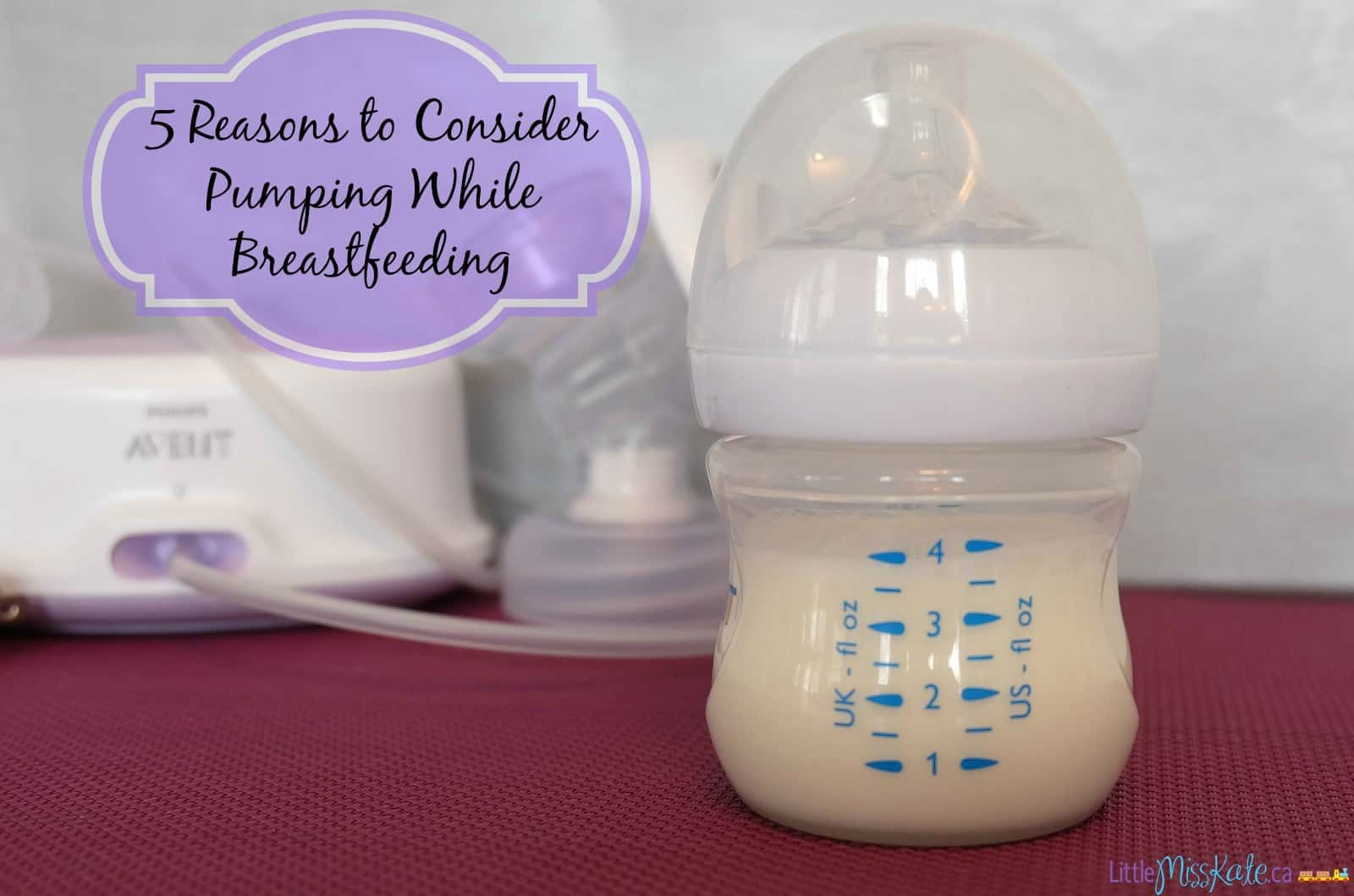 5 Reasons to Consider Pumping While Breastfeeding