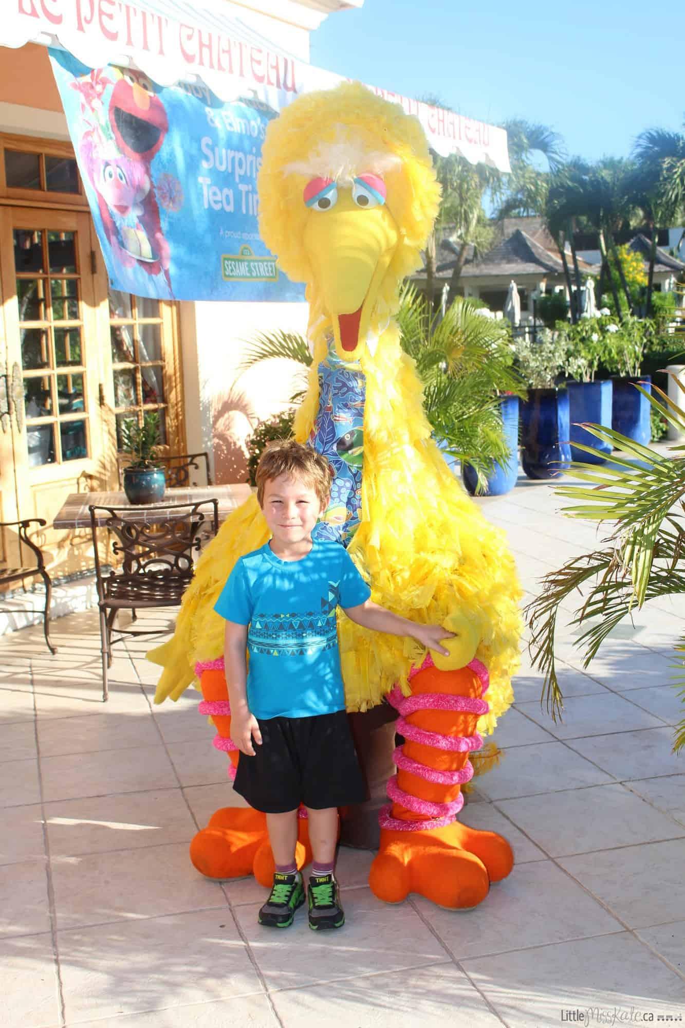 Beaches resort Turks and Caicos Sesame Street Characters via www.littlemisskate.ca