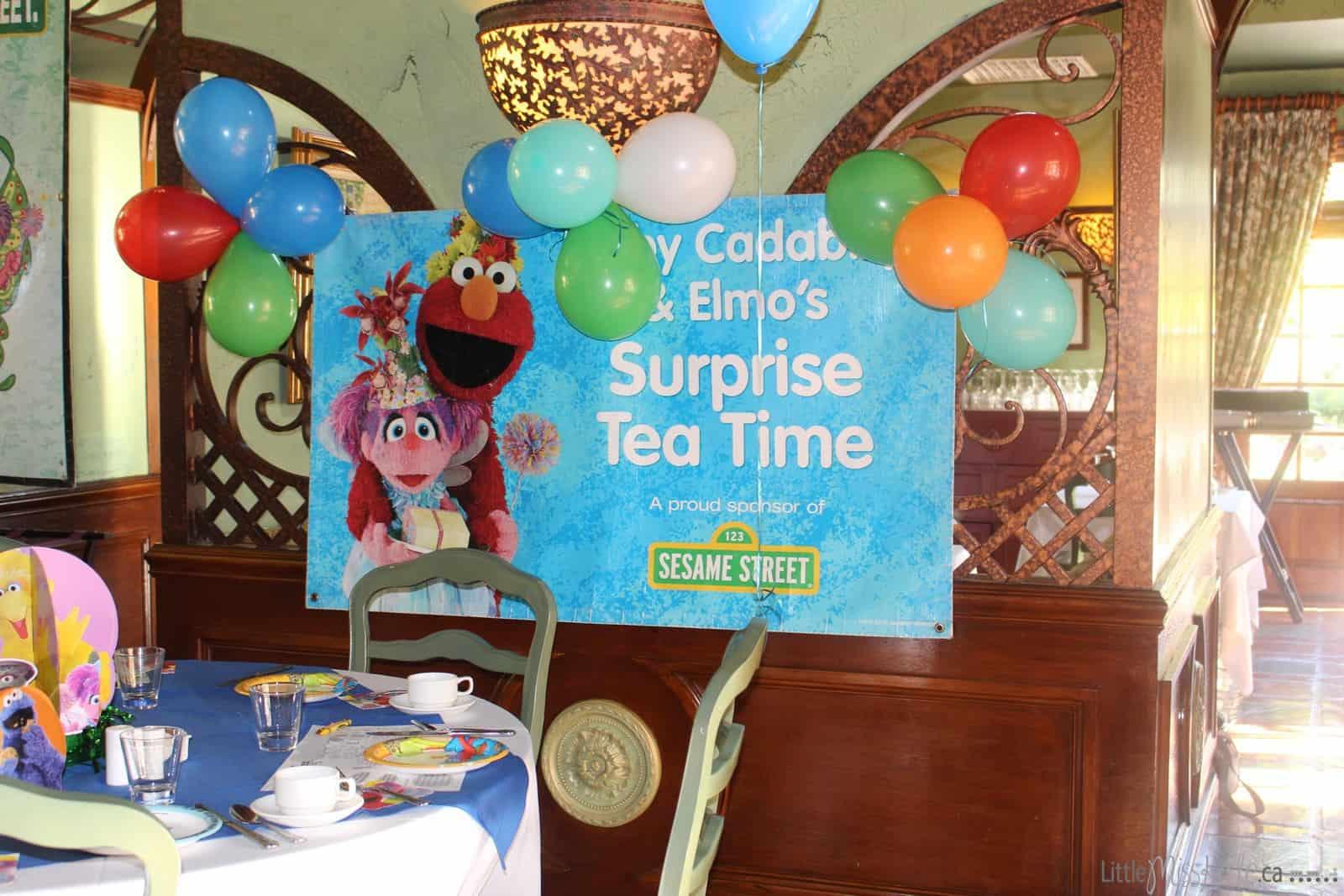 Beaches resort Turks and Caicos Sesame Street Character Breakfast via www.littlemisskate.ca