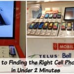 4 Steps to Finding the Right Cell Phone Plan in Under 2 Minutes