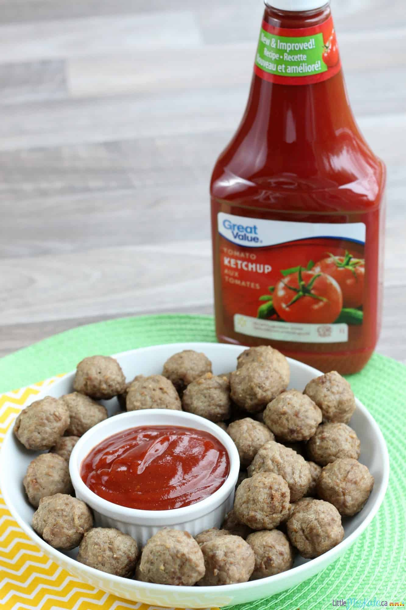 Quebec Inspired Dip with Cocktail Meatballs Recipe