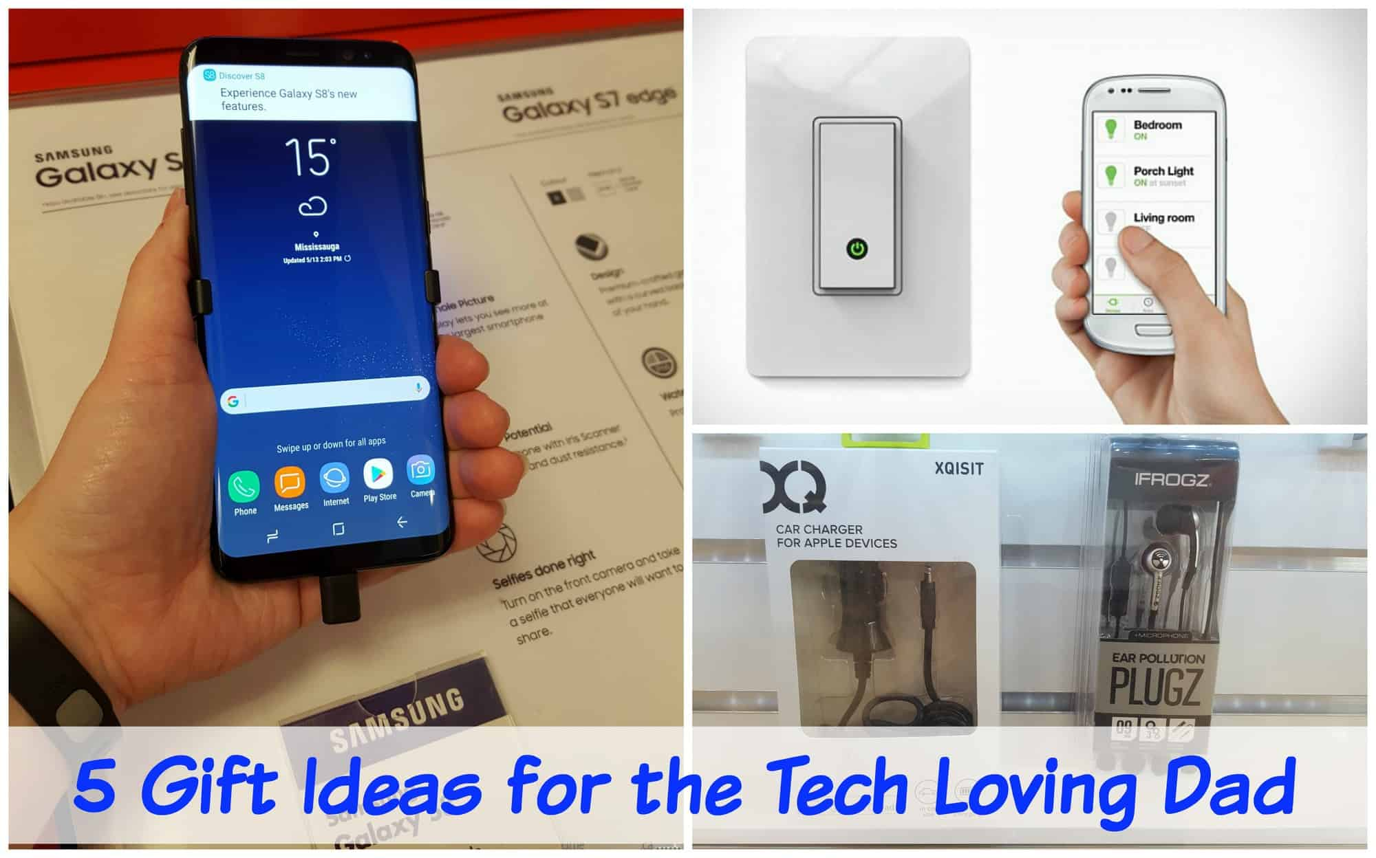 5 Gift Ideas for the Tech Loving Dad
