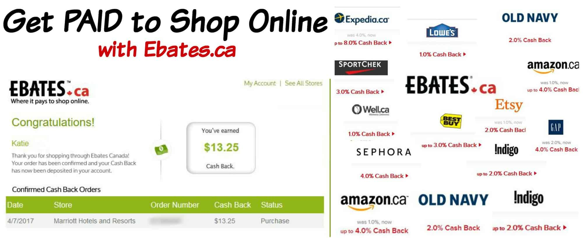 Get Paid To Shop – Saving Money With Ebates is as Easy As 1, 2, 3