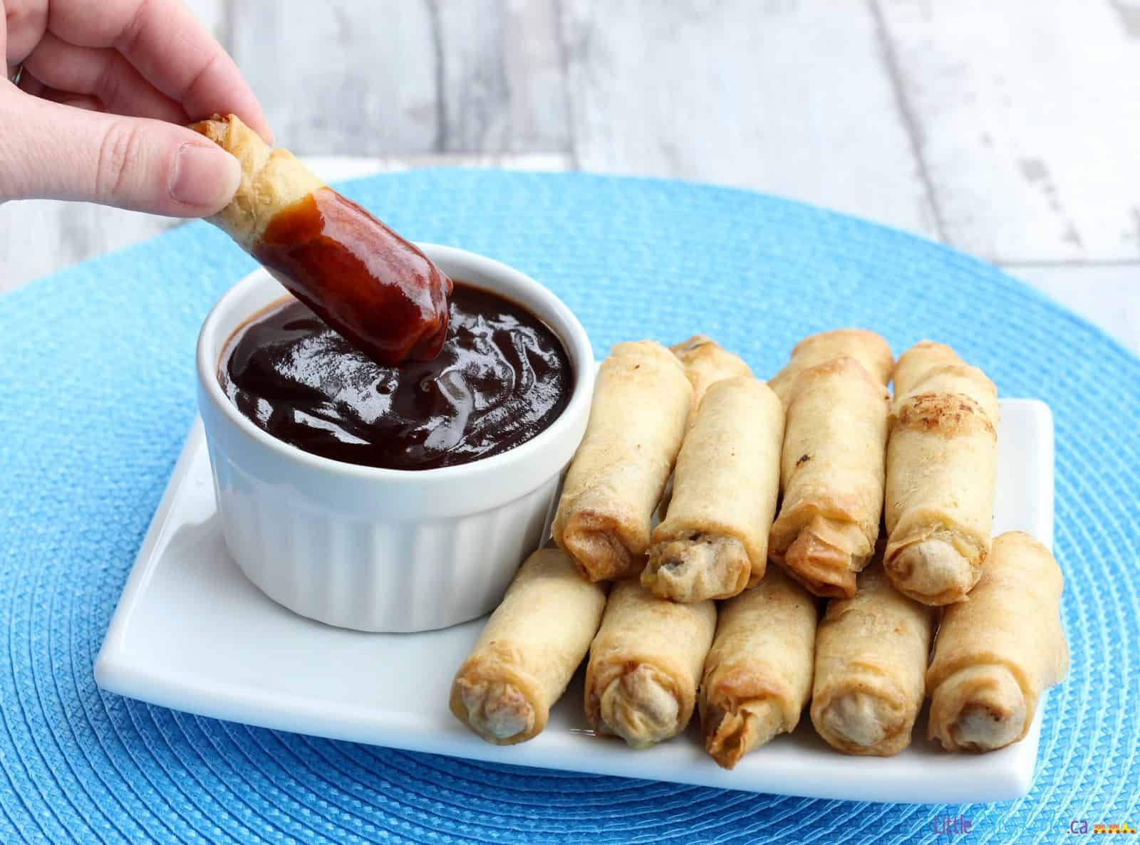 Delicious Dips Made With Ketchup - homemade Chinese Char-siu BBQ Sauce via littlemisskate.ca