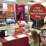 Easy One Stop Back To School Shop