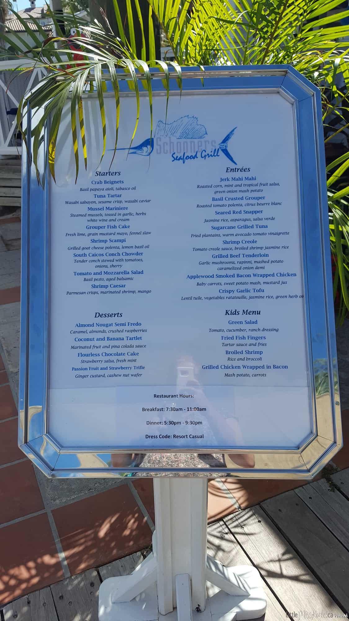 Beaches Resort Villages Turks and Caicos Restaurants - Schonners via littlemisskate.ca