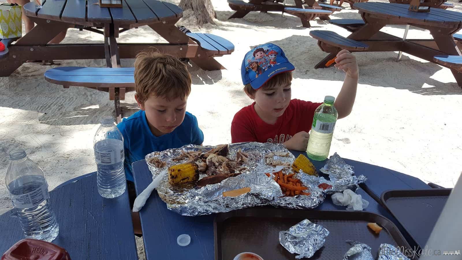 Beaches Resort Villages Turks and Caicos Restaurants - The Jerk Shack via littlemisskate.ca