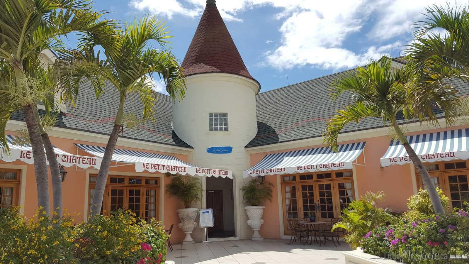 Beaches Resort Villages Turks and Caicos Restaurants - Le Petit Chateau via littlemisskate.ca