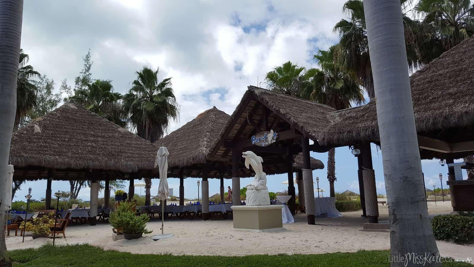 Beaches Resort Villages Turks and Caicos Restaurants - Barefoot by the sea via littlemisskate.ca