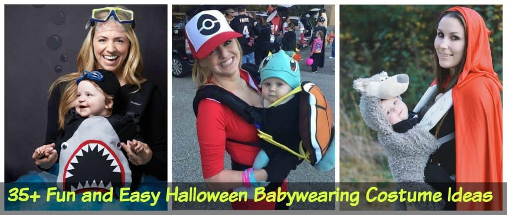 35+ Fun and Easy Halloween Babywearing Costume Ideas  sc 1 st  Little Miss Kate & 35+ Fun and Easy Halloween Babywearing Costume Ideas - Little Miss Kate