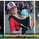 35+ Fun and Easy Halloween Babywearing Costume Ideas