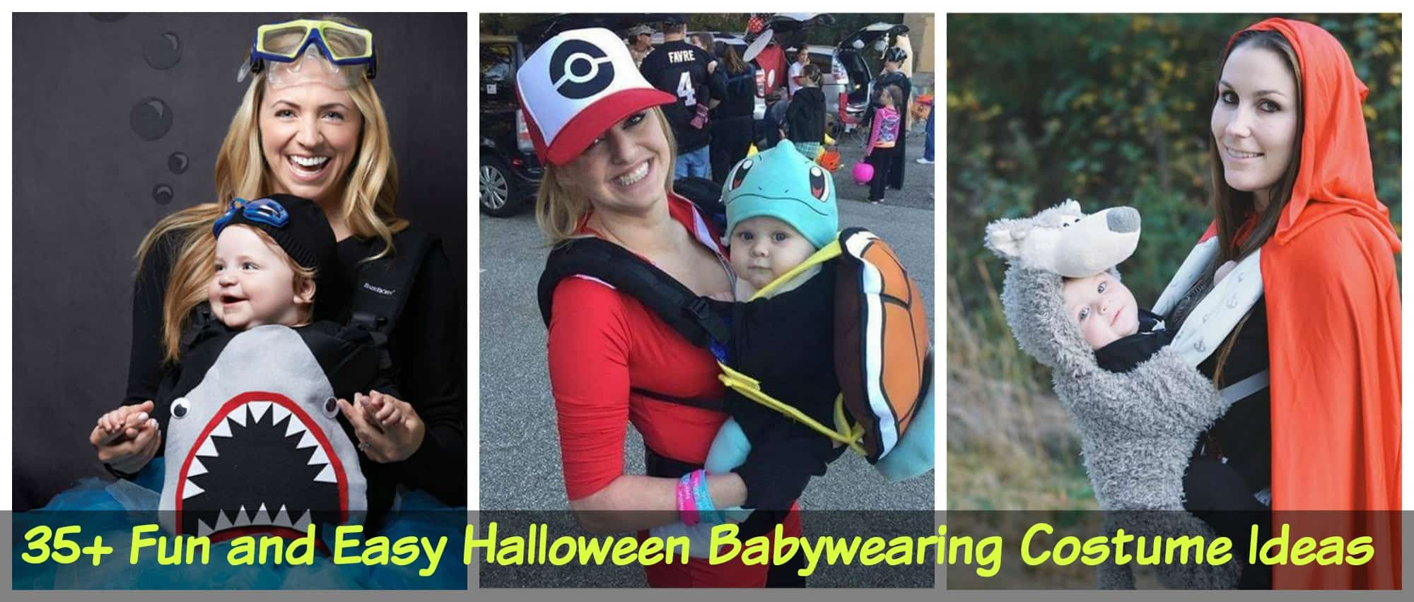 Halloween Babywearing Costume Ideas via LittleMissKate.ca