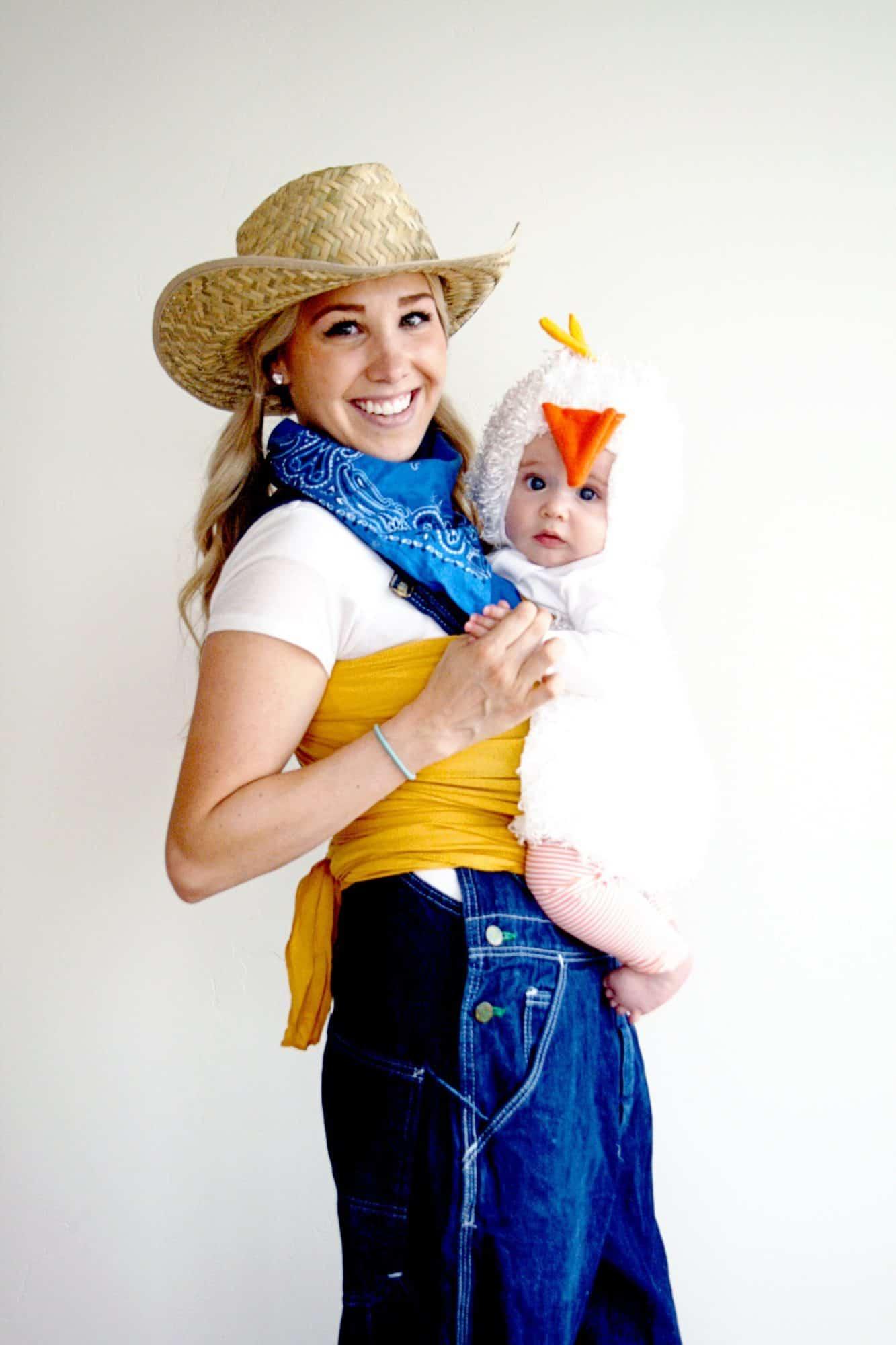 35+ fun and easy halloween babywearing costume ideas - little miss kate