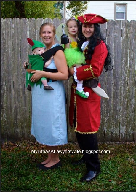 Mom and Baby Costume ideas - peter pan