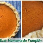 The Best Homemade Pumpkin Pie Recipe with Canned Pumpkin