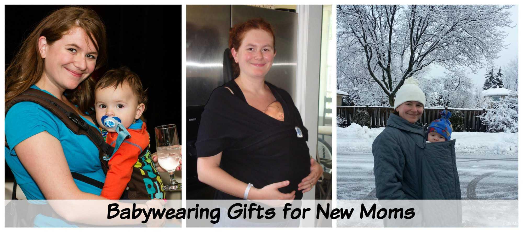 Babywearing Gift Ideas For New Moms via LittleMissKate.ca