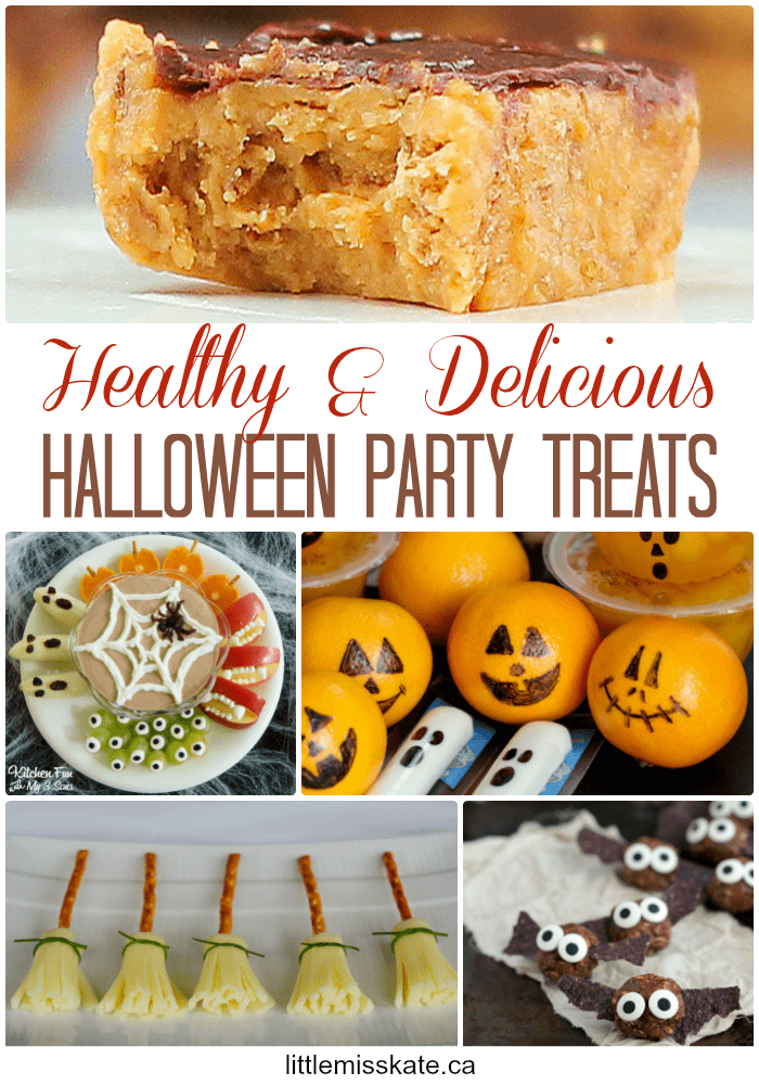 Healthy Halloween Treat and Food Ideas via LittleMissKate.ca