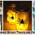 15+ Halloween Ideas – Creepy Crawly Spider Treats and Decorations