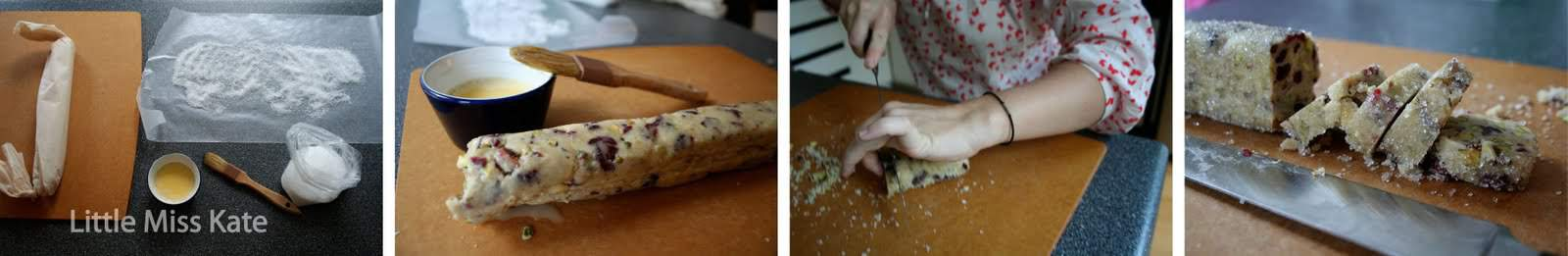 Cranberry Pistachio Cookies Recipe via littlemisskate.ca