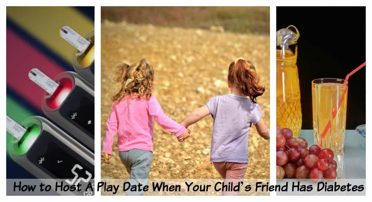 How to Host A Play Date When Your Child's Friend Has Diabetes