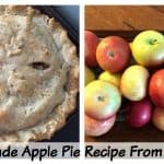 Homemade Apple Pie Recipe from scratch with step by step photos