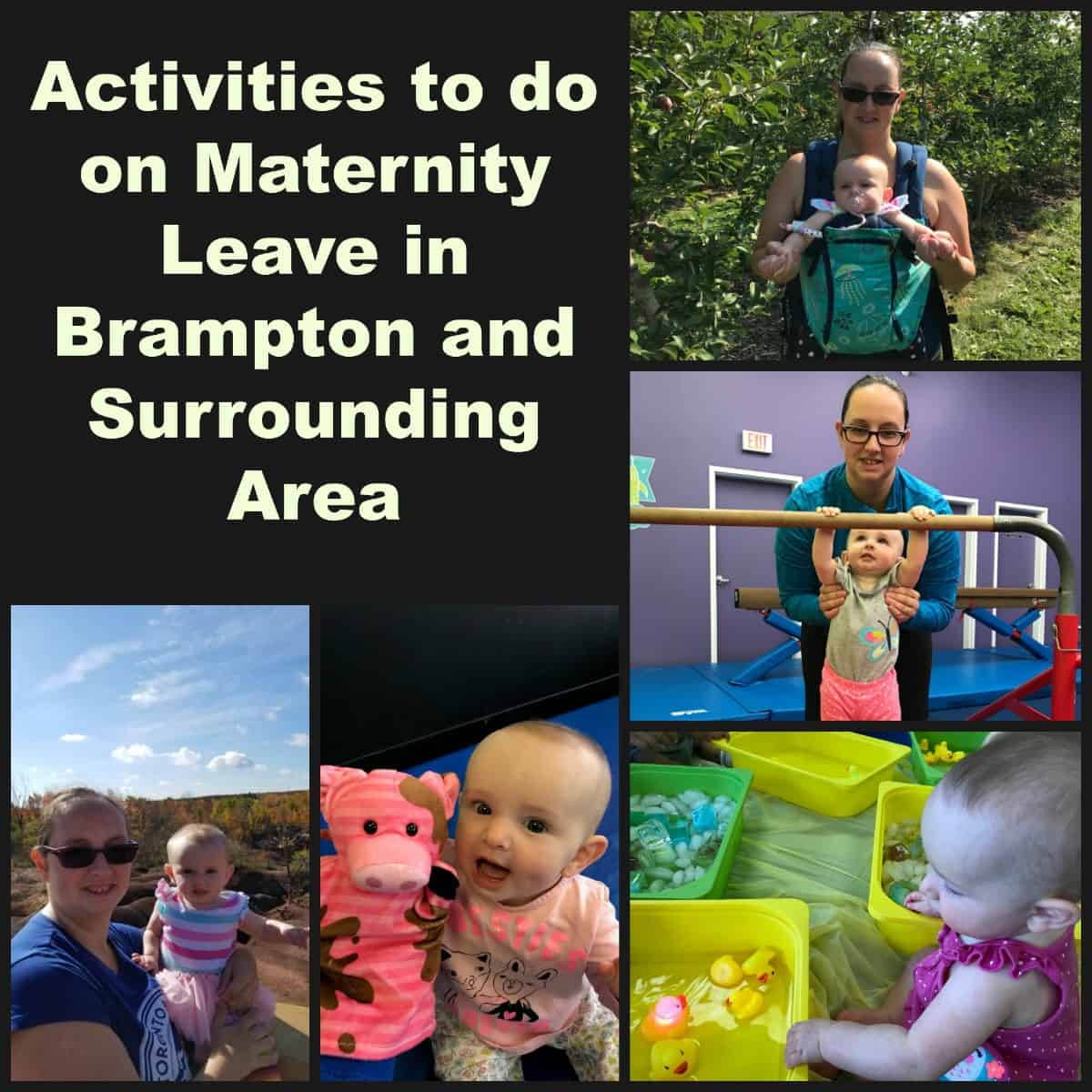 25 Things to do in Brampton with a Baby