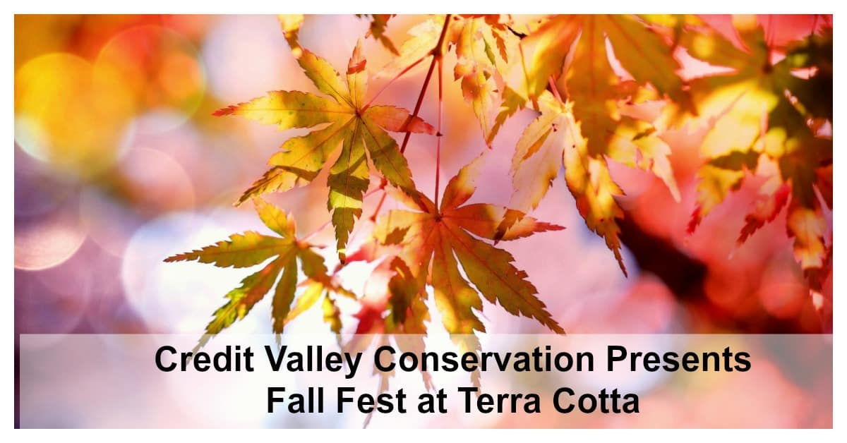 Credit Valley Conservation Presents Fall Fest at Terra Cotta – Fall Activities in Halton Hills