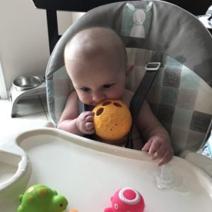 highchair messy play - Messy Play Ideas in the High Chair to encourage development