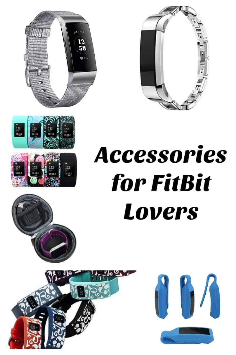 gift ideas for someone with a fitbit - accessories for FitBit