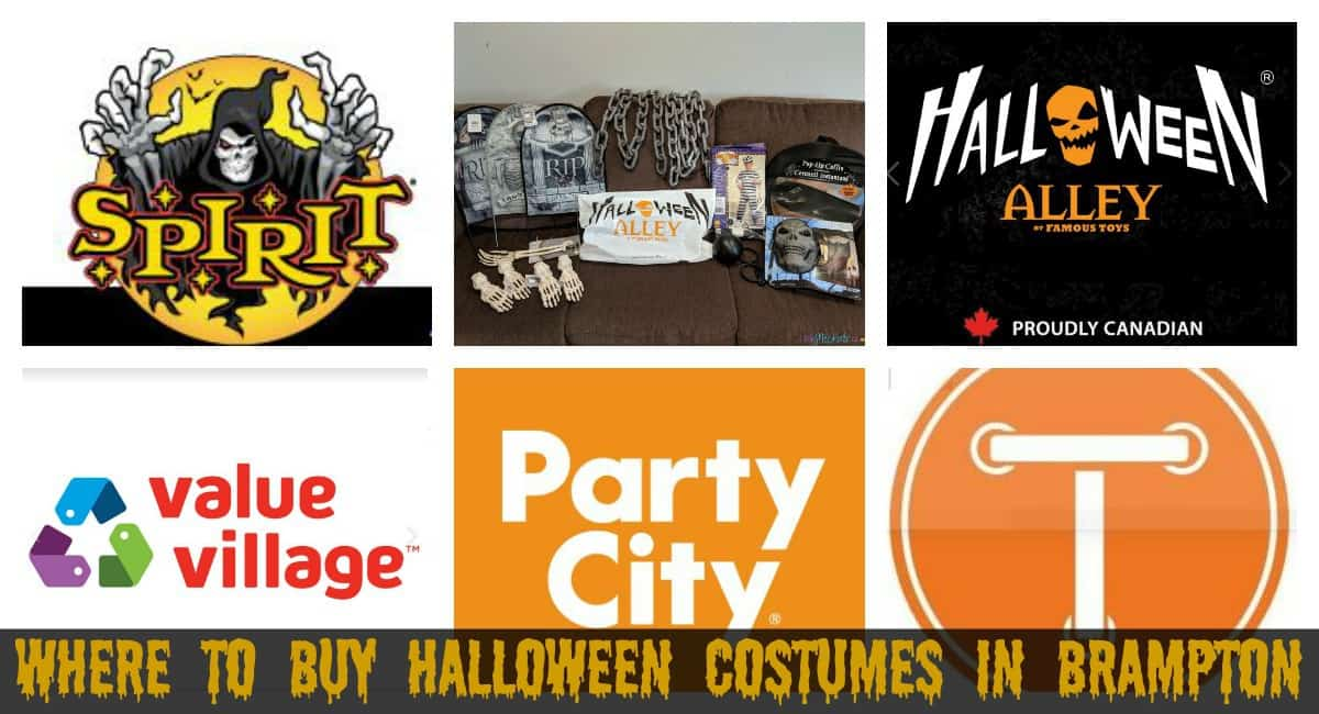Where to Buy Halloween Costumes and Decorations in Brampton