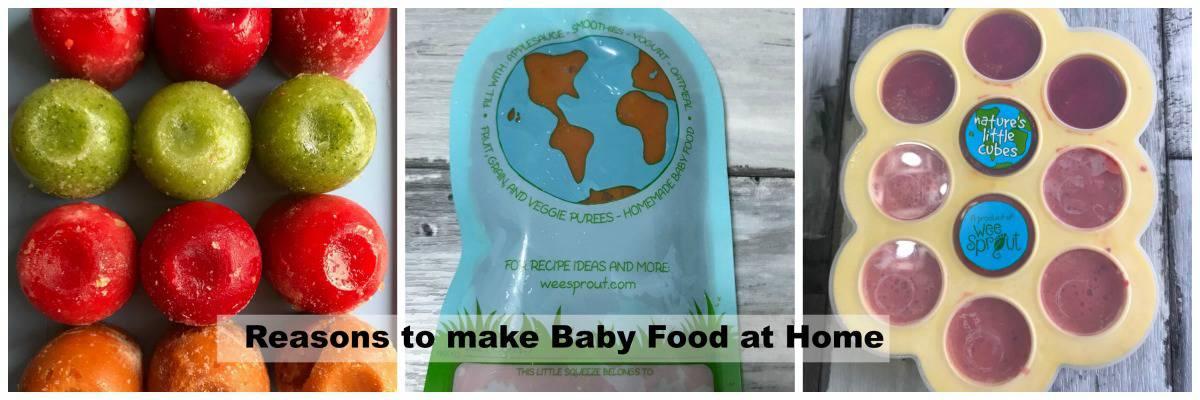 Reasons to make Homemade baby food