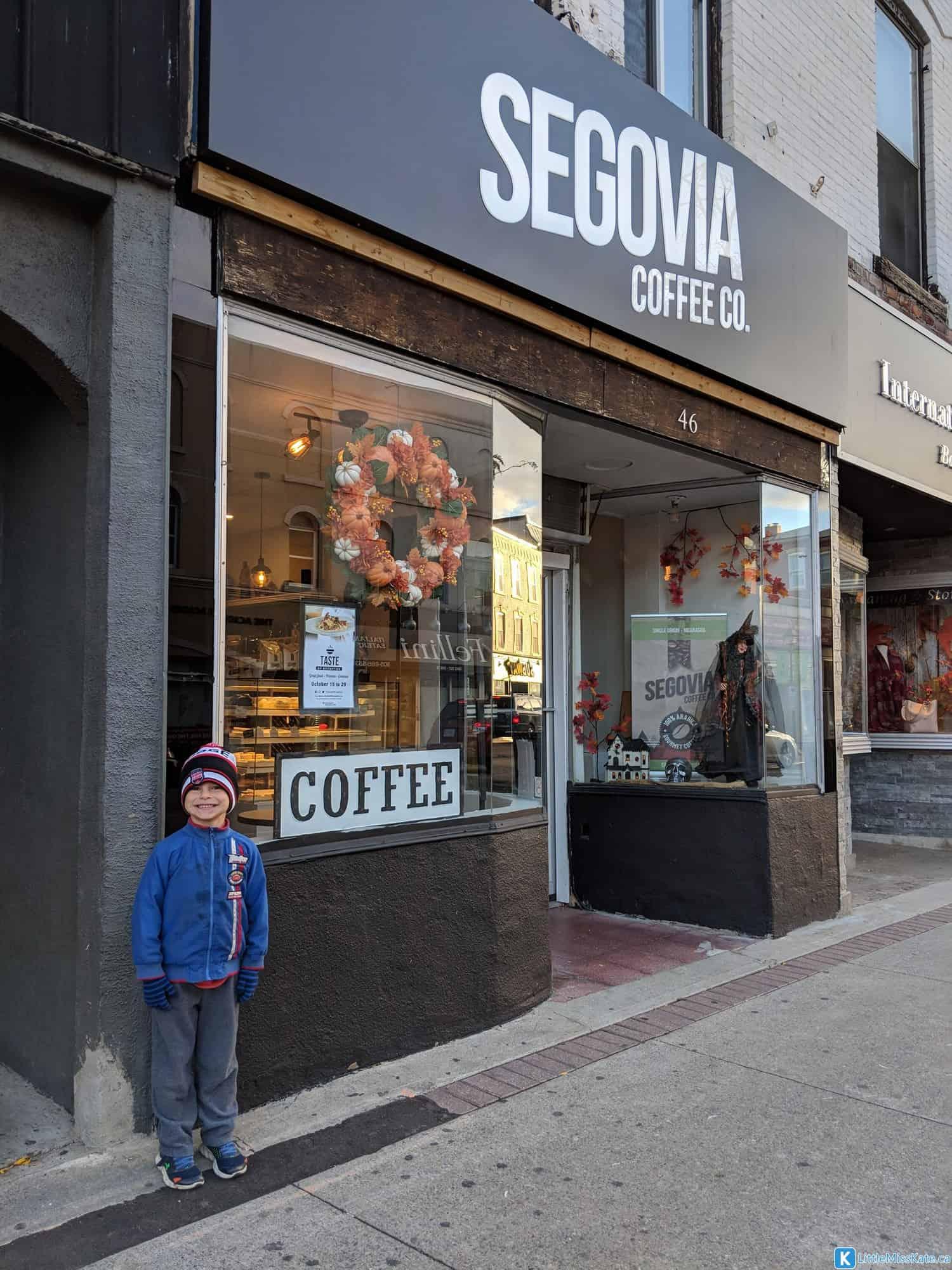 best pleaces to eat in Brampton Segovia coffee