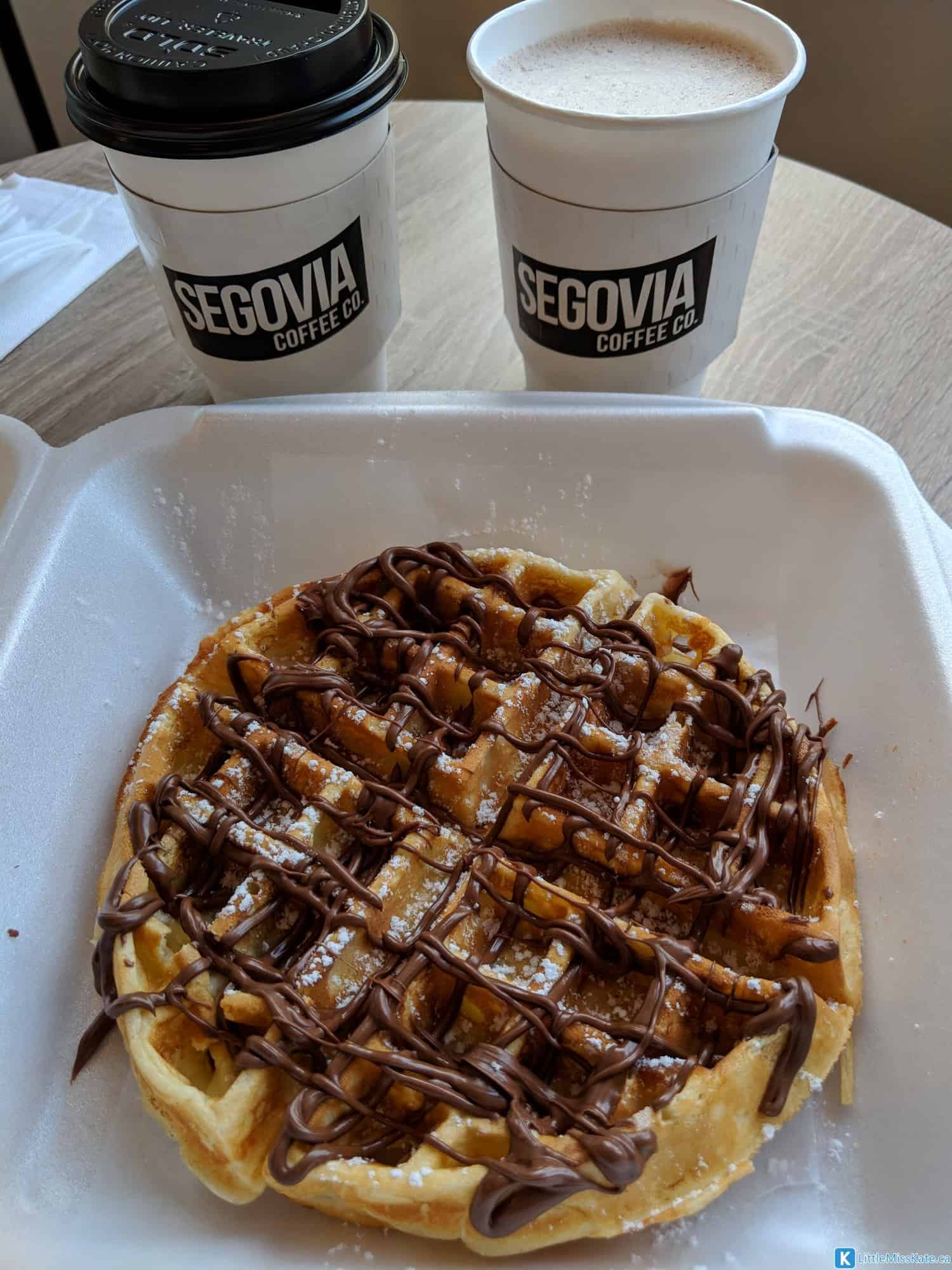 best waffles in brampton segovia coffee taste of brampton