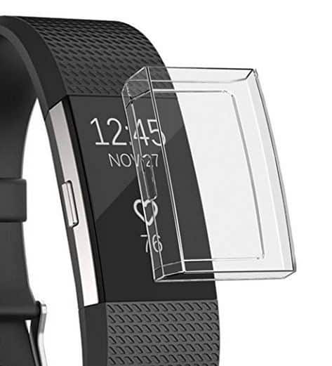 fitbit accessory ideas screen protector fitbit charge 2