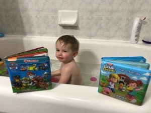 Bath Books for Toddlers